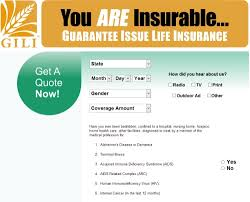 Guaranteed Issue Life Insurance Quotes Glamorous Guaranteed Issue